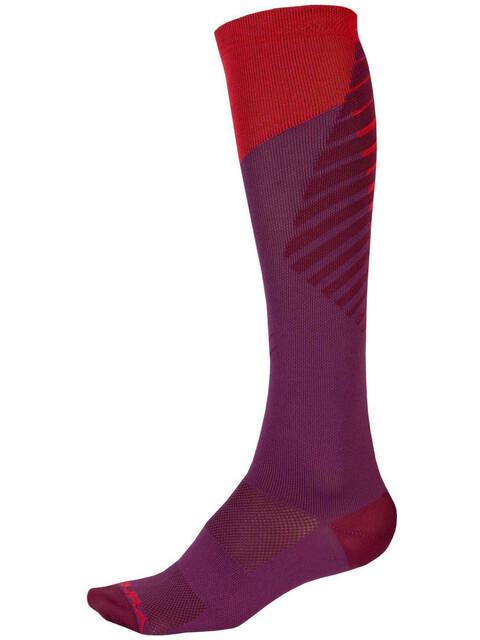 Endura SingleTrack Socks Women mulberry